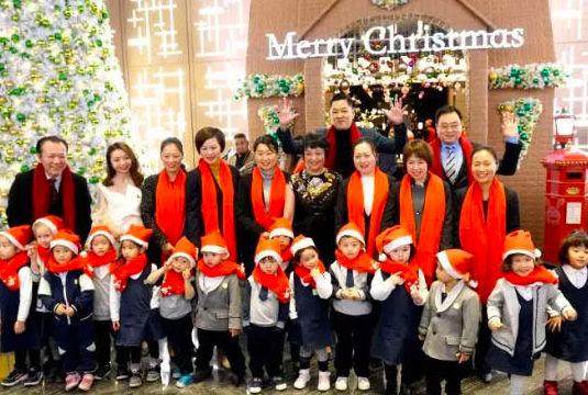 美好的圣诞亮灯仪式暨FGA未来成长合唱团首演成功