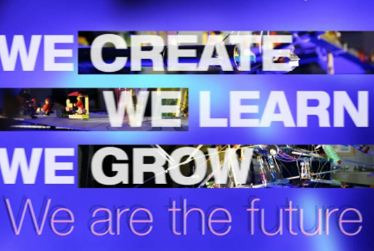 We Create, We Learn, We Grow. We are the future